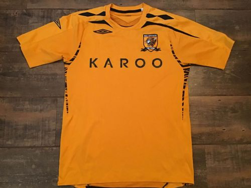 2007 2008 Hull City Home Football Shirt Adults Small